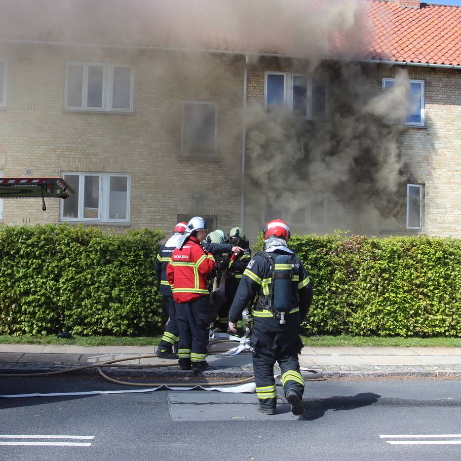 brand i lyngby i dag