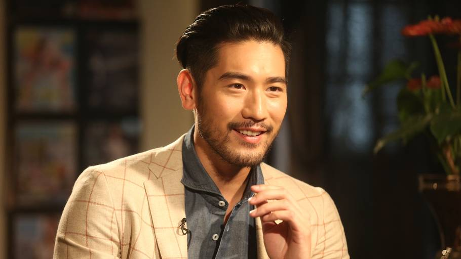 Model og skuespiller Godfrey Gao kollapsede midt i et reality-program på tv. (Foto: Ritzau Scanpix)