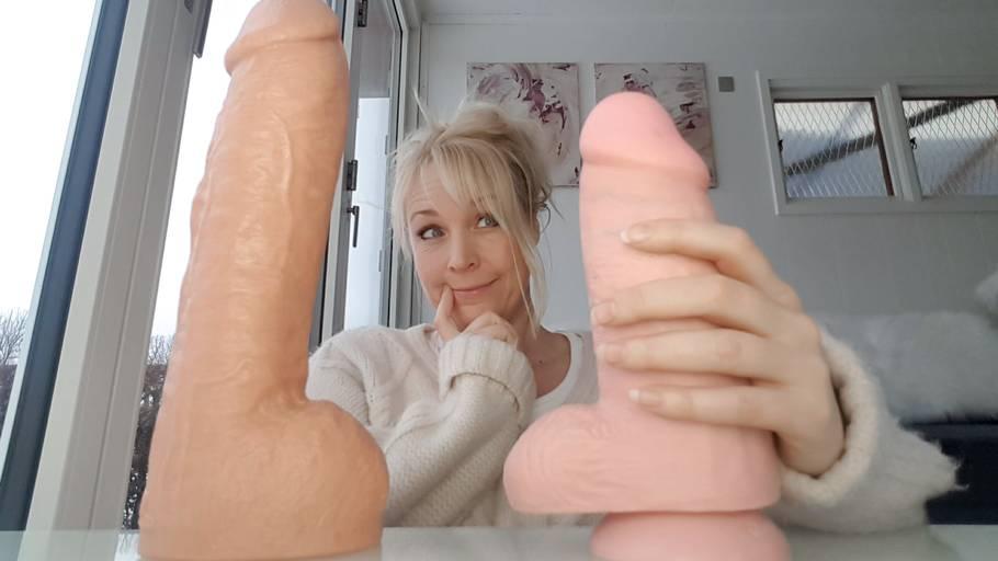 Stor penis ægte