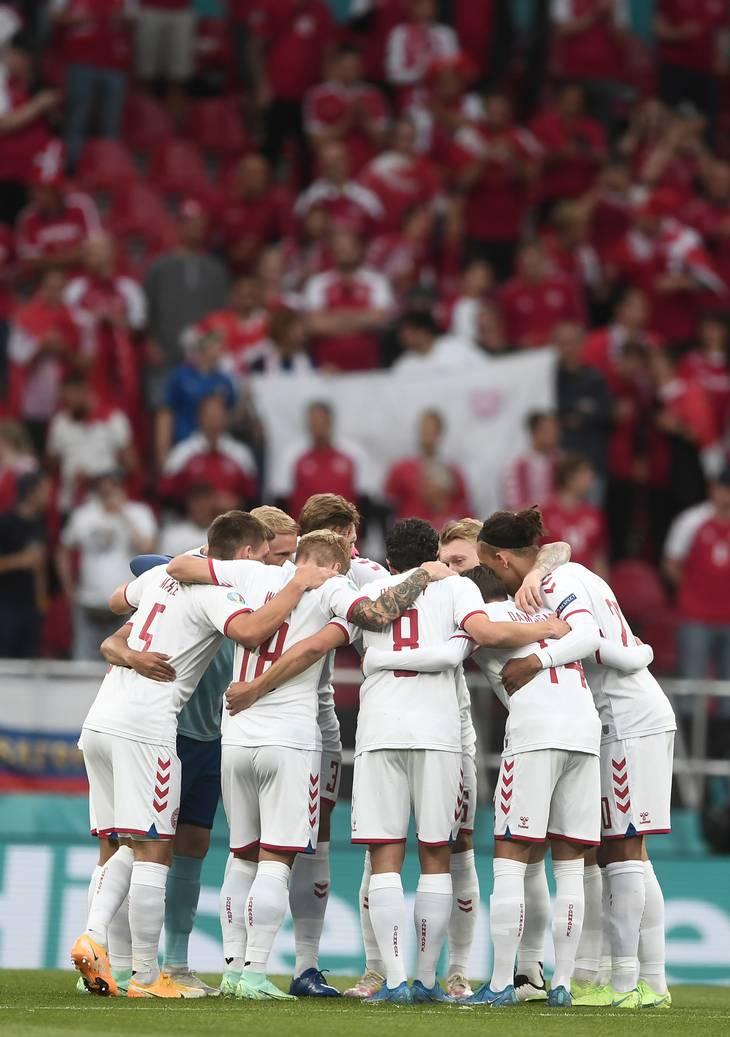 14 af de 26 spillere i den danske EM-trup kan skifte klub denne sommer. Foto: Lars Poulsen.