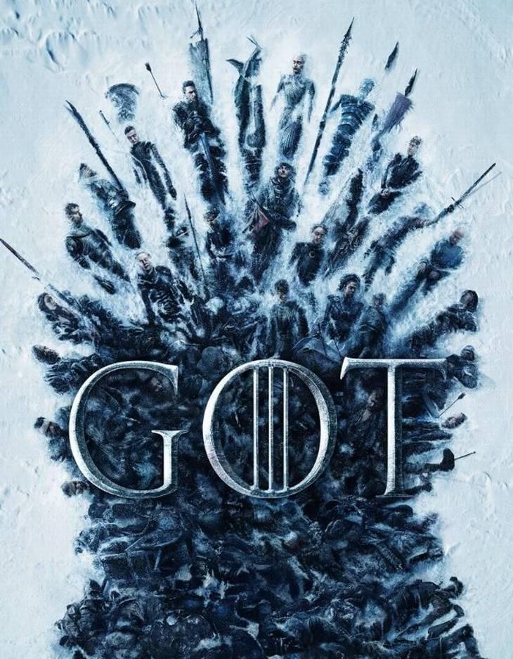 Her ses den nye plakat, som virkelig har sat spekulationer i gang hos mange fans af tv-serien 'Game of Thrones.'(Foto: HBO)