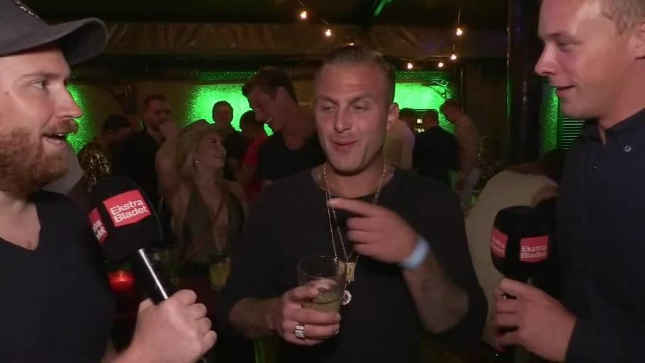 12fa204c Sidste års vinder Lenny Pihl var trist til finalefesten. Foto: Ekstra Bladet