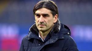 Den kroatiske træner Ivan Juric er fortid i den italienske klub Genoa. Foto: AP