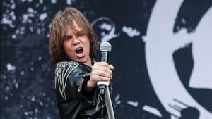 Joey Tempest alias Rolf Magnus Joakim Larsson gjorde sig til i front for energiske Europe. Foto: Per Lange