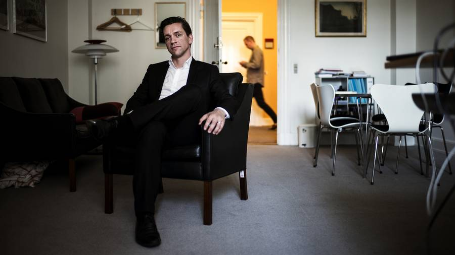 Kaare Dybvads bog, der startede elite-debatten, er virkelig vedkommende. Foto: Rasmus Flindt Pedersen
