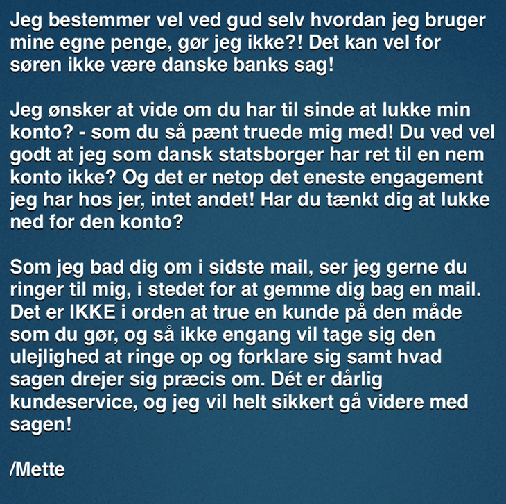 dating forkert mand