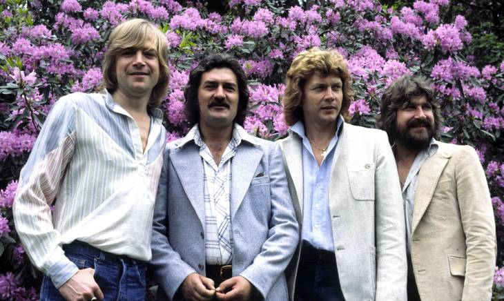 The Moody Blues anno 1978 - Ray Thomas er nummer to fra venstre. Foto: Andre Csillag/All Over