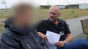 Her mødes Henrik Qvortrup med den 31-årige mand i Amager Strandpark. Han troede, han skulle have sex med en 13-årig pige. Foto: TV3