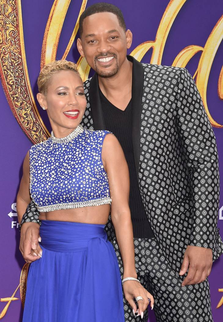 Will Smith ses her med sin kone Jada Pinkett Smith. Foto: Shutterstock.