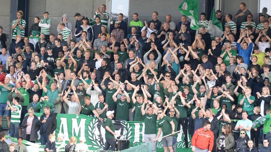 Viborg vandt 1. division og spiller den kommende sæson i Superligaen. Foto: Ernst van Norde