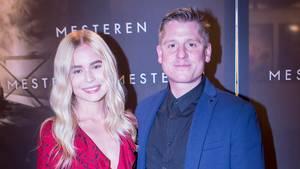 Robert Hansen havde den 17-årige Lily med til premieren på 'Mesteren' i Dagmar. Foto: Malene Porup/HER & NU
