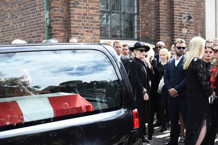 mads holgers begravelse