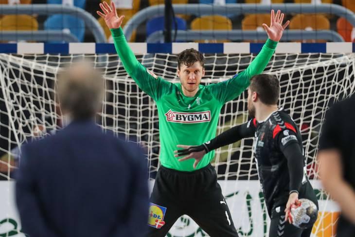 Niklas Landin blev den store helt, da kampen blev afgjort på straffekast. Foto: Ritzau Scanpix