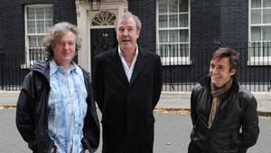 Trioen tilbage i deres 'Top Gear'-dage. Foto: AP/Stefan Rousseau