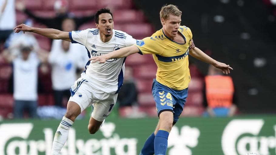 Det er et stykke tid siden, FCK og Brøndby har mødt hinanden, men fan-følelserne kan godt komme til udtryk alligevel. Foto: Lars Poulsen