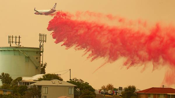 brand i australien
