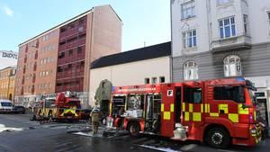En børnehave på Nørrebro er så ødelagt efter en brand, at Københavns Kommune nu åbner en nødinstitution. Foto: Kenneth Meyer