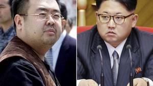 Kim Jong-nam (tv) har ikke samme mor som Nordkoreas diktator, Kim Jong-un. (Foto: AP)