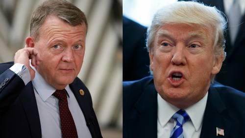 Lars Løkke skal lytte godt efter, om Donald Trump kræver milliarder af kroner til det danske forsvar. Foto: AP: Evan Vucci