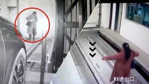 Kvinde mejet ned i parkeringsfælde: Var optaget af mobilen