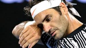 Roger Federer kom skidt fra