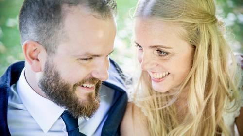 Nicolas og Camilla er to af deltagerne fra 'Gift ved første blik', der sammen danner par. Foto: Nikolai Linares