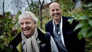 Michael Bundesen (til venstre) og Michael Hardinger var to af de mest markante Shu-bi-dua-medlemmer. Foto: Thomas Lekfeldt