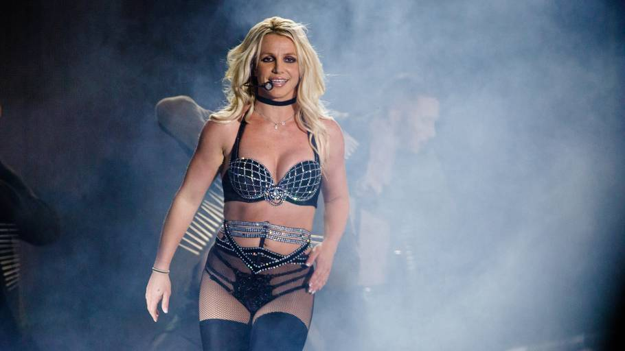 Britney Spears under den famøse optræden på Smukfest, hvor mange udvandrede. Foto: Per Lange