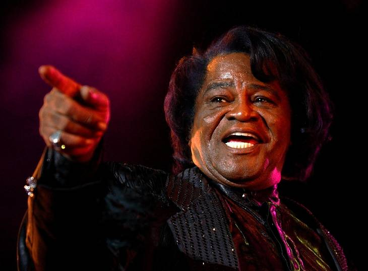 James Brown med det velfortjente tilnavn 'The Godfather of Soul'. Foto: AP