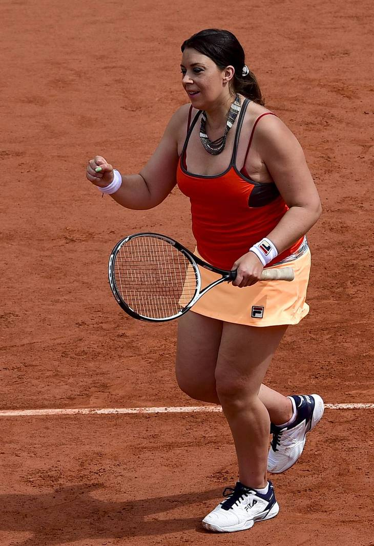 Marion Bartoli spilede double ved Franch Open 2017. Foto: Imago Sport/All Over Press