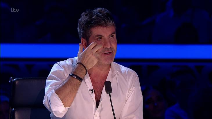 'X Factor'-dommeren Simon Cowell. Foto: All Over