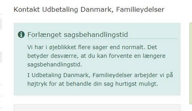 udbetaling danmark familieydelser