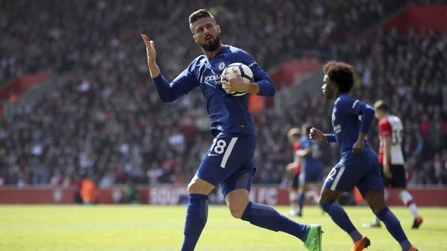 884c0c31 Olivier Giroud startede et flot comeback, da han reducerede til 1-2 mod  Southampton