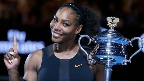 Det var ganske enkelt et uheld, da tennisspilleren Serena Williams kom til at afsløre nyheden om sin graviditet på det sociale medie Snapchat. Foto: Aaron Favila/AP