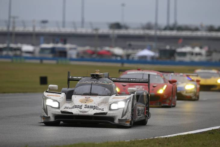 Action Express Racing blev sidste år nummer to i klassen på Daytona. Foto: imago/PanoramiC/All Over Press