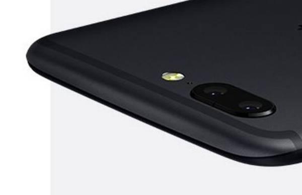 Som dette 'teaser-billede' fra OnePlus viser, får den nye topmodel et dual-kamera. PR-foto