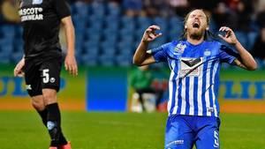 Esbjergs Bjørn Paulsen skifter til svensk fodbold, hvor han har fået kontrakt med Hammarby frem til 2019. Foto: Christer Holte