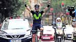 Valverde triumferede og vandt løbet i Spanien. Foto: AllOver