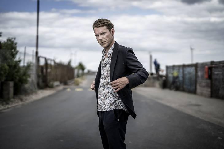 Thue Ersted Rasmussen er 35 år og har været skuespiller i over ti år. Foto: Henning Hjorth