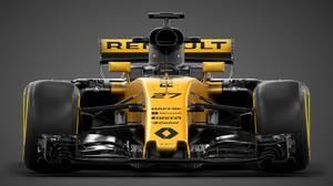 Renaults tekniske chef Bob Bell forventer, at den nye racer er fem procent bedre og vil køre 3,5-4 sekunder hurtigere pr. omgang. Foto: Handout Renault Sport