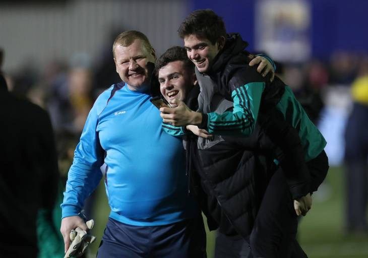 Wayne Shaw under den skæbnesvangre kamp, da altid stadig var lut og tærte. Foto: Jed Leicester/All Over Press.