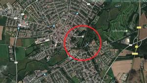 Politiet søger vidner til et røveri i Arnbjergparken i Varden lørdag kort tid efter middag. Googlemaps