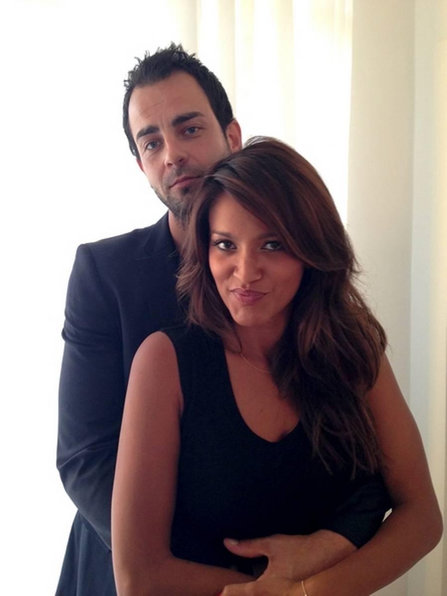 Saseline og Michael Dreyer venter deres første barn. (Privatfoto).