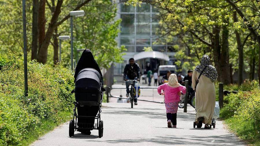 I dag føder kvinder med tyrkisk baggrund 2 børn i snit. Det er er lidt mere end gennemsnittet for alle kvinder i Danmark, der ligger på 1,8 barn. Arkivfoto: Finn Frandsen