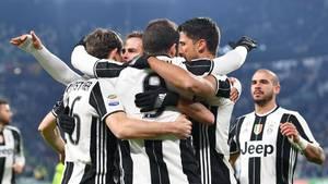 Juventus holdet fortsat afstand ned til de nærmeste forfølgere i Serie A. Foto: AP.