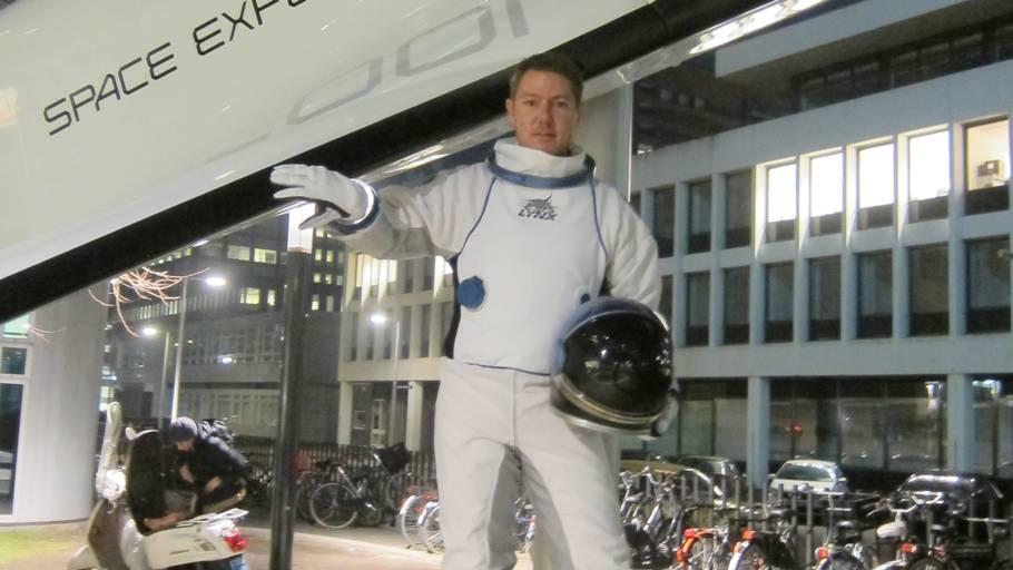 Carsten Lillelund Pedersen har altid haft en drøm om at komme ud i rummet. Foto: Privat