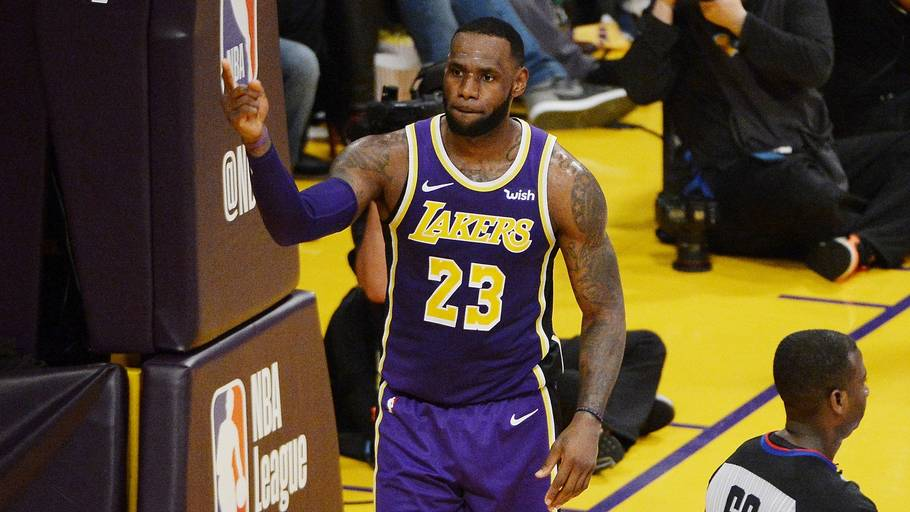 LeBron James overhalede sit store idol, Michael Jordan, på NBA's liste over alletiders topscorere. Foto: Robert Laberge/Getty Images/Ritzau/Scanpix