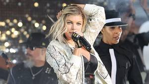 Fergie har bestemt noget at byde på kropsligt. Foto: All Over Press