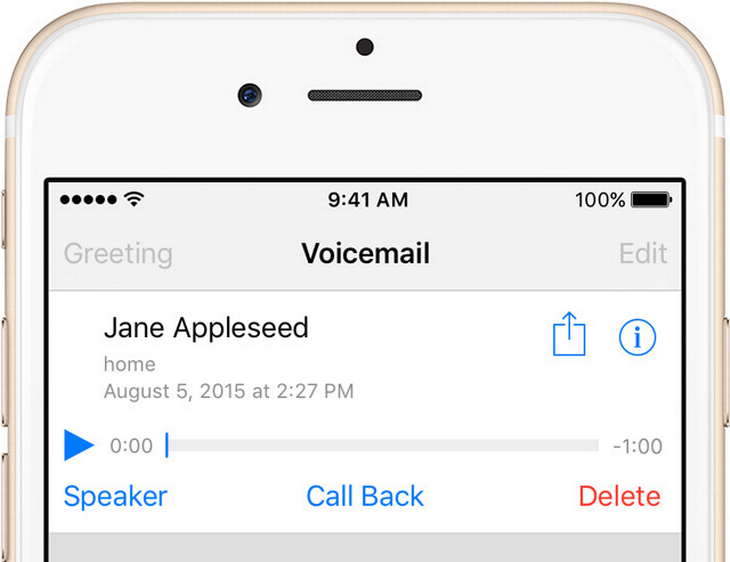 tdc voicemail mobil