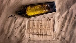 brevet i flasken